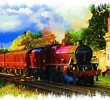 4-6-0 Galatea at Appleby by mike1956