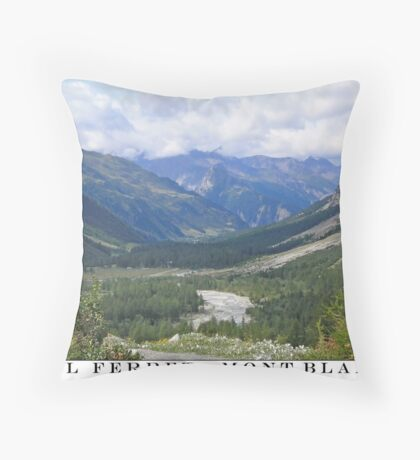 val ferret - mont blanc Throw Pillow