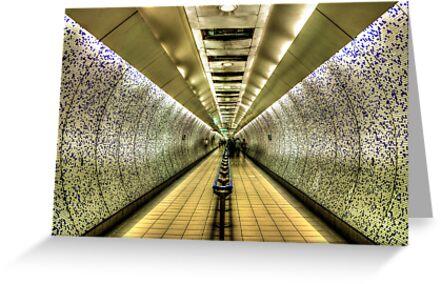 London Underground by Svetlana Sewell