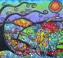 Kaleidoscope Kats by Juli Cady Ryan