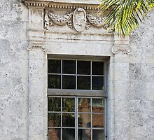 Old Courthouse Window by Rosalie Scanlon