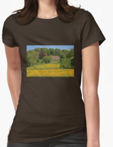Build Me Up Buttercup Womens Fitted T-Shirt