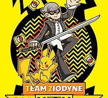 Pokemon x Persona - Team Ziodyne by vbatignole