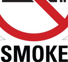 Smoke Free Zone - Dark Sticker