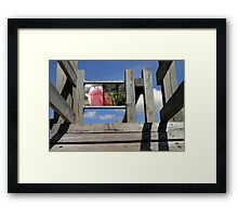 Looking at the Language of Play Framed Print