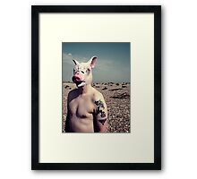 Squeal Framed Print
