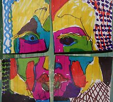 Woman in Four Quarters by eoconnor
