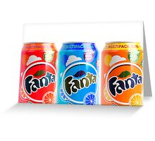 Different Fanta's Greeting Card