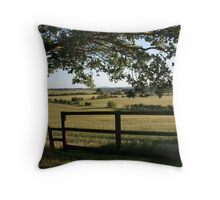 A Spring Evening - a day later... Throw Pillow