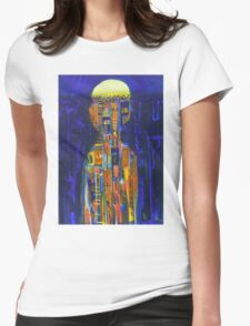 urban state of mind Womens Fitted T-Shirt