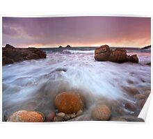 Tidal Waters - Porth Nanvan Poster
