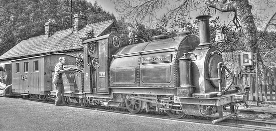 Steam Train by Andy Cork