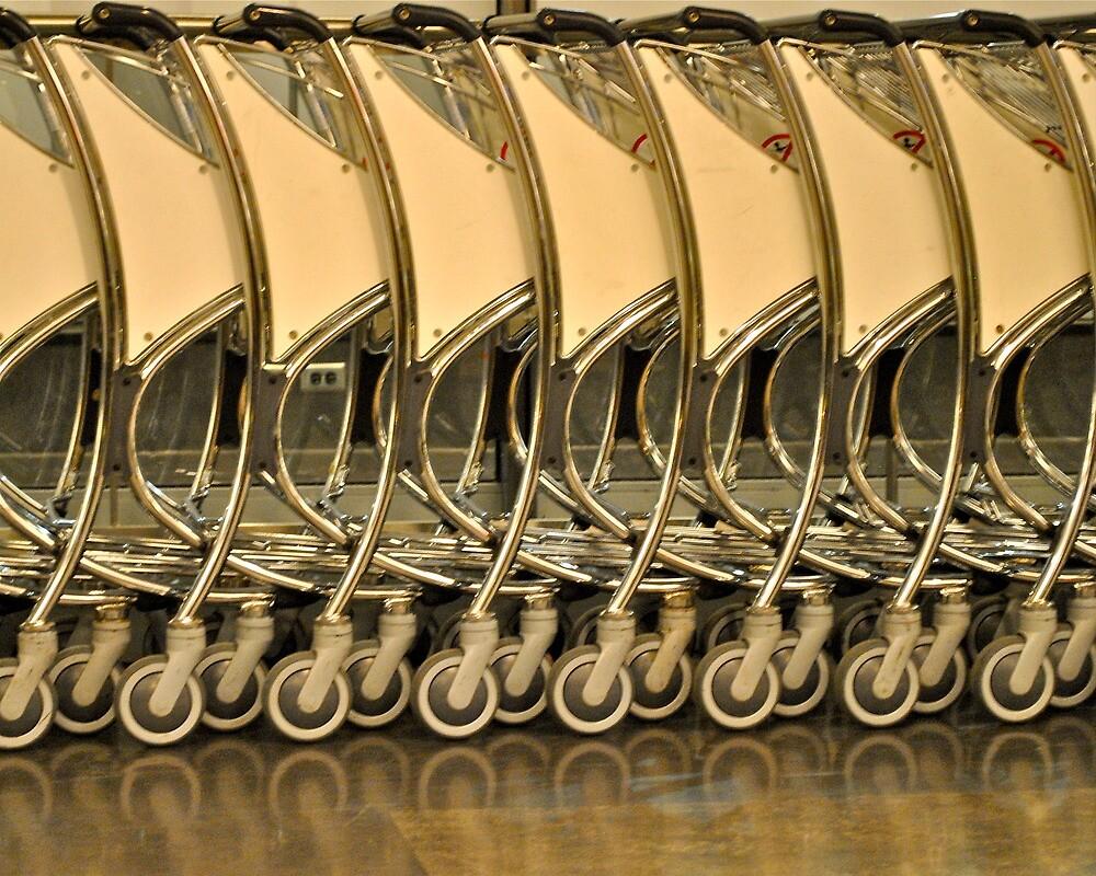 luggage trolleys by richard  webb