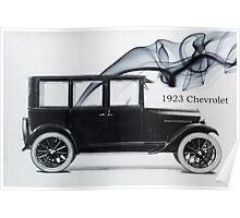 1923 Chevrolet Poster