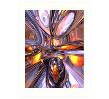 ludicrous Voyage Abstract Art Print