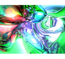 Disorderly Color Abstract Photographic Print