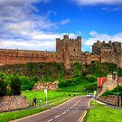 Bamburgh Castle by Tom Gomez