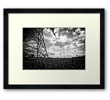 Pylon I Framed Print