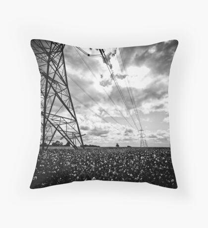Pylon I Throw Pillow