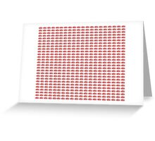 Judo Text Background Red Greeting Card