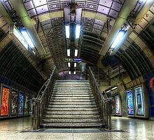 Underground Stairs by Svetlana Sewell