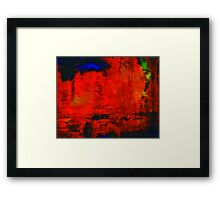 Abstraction 666 Framed Print