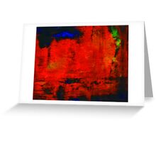 Abstraction 666 Greeting Card