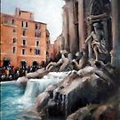 Trevi fountain (Rome) by Ivana Pinaffo