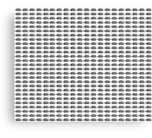 Judo Text Background Black  Canvas Print
