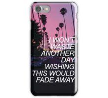 FLY AWAY LYRICS // 5SOS iPhone Case/Skin