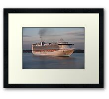 Grand Princess, Southampton Framed Print
