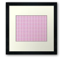 Judo Text Background Pink  Framed Print