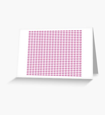 Judo Text Background Pink  Greeting Card