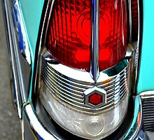"""Classic Packard Taillight"" by Lynn Bawden"