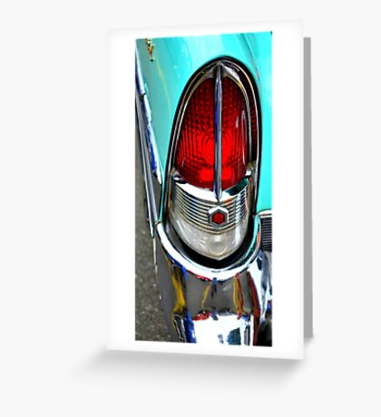 """""""Classic Packard Taillight"""" Greeting Card"""