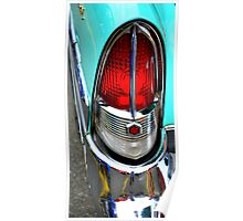 """""""Classic Packard Taillight"""" Poster"""