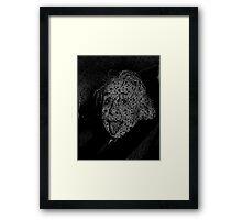 Albert Einstein quotes Framed Print
