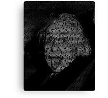 Albert Einstein quotes Canvas Print