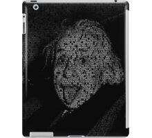 Albert Einstein quotes iPad Case/Skin