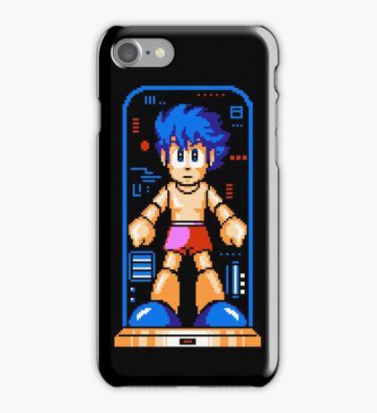 Megaman - NES Sprite iPhone Case/Skin