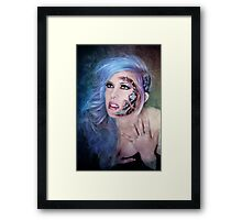 Cyanide Cyborg Framed Print
