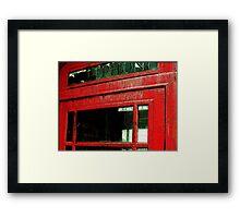 Booth  Framed Print