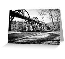 Bridge and Shadow Greeting Card
