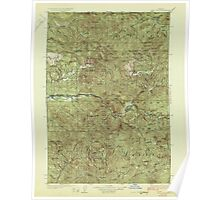 USGS Topo Map Oregon Mill City 283207 1929 125000 Poster