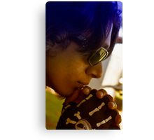 Omar in Thought Canvas Print