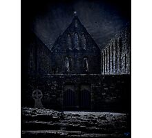 The Abbey Ruins at Battle Photographic Print