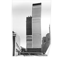 World Trade Center 1971 the Other Side Poster