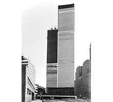 World Trade Center 1971 the Other Side Photographic Print