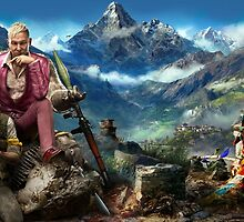 farcry 4 extended cover art by WordDungeon