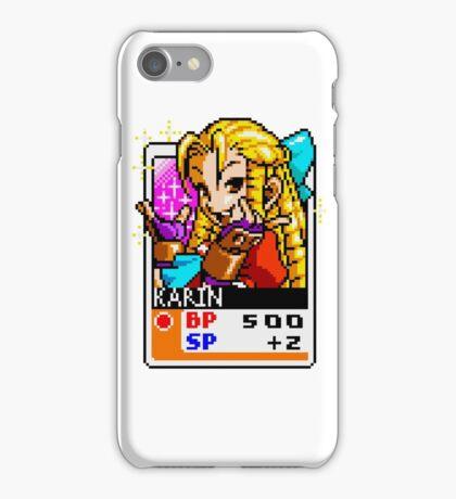 Karin Kanzuki - Street Fighter iPhone Case/Skin
